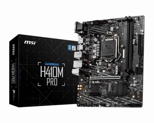 Tarjeta Madre MSI Micro-ATX H410M PRO, S-1200, Intel H410, HDMI, 64GB DDR4 para Intel