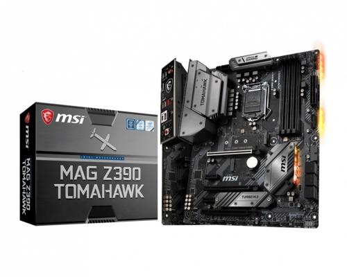 Tarjeta Madre MSI ATX MAG Z390 TOMAHAWK, S-1151, Intel Z390, HDMI, 64GB DDR4 para Intel ― Compatibles solo con 8va & 9va Generación