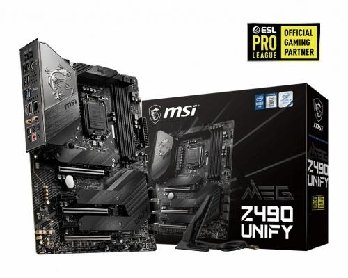 Tarjeta Madre MSI ATX MEG Z490 UNIFY, S-1200, Intel Z490, 128GB DDR4 para Intel