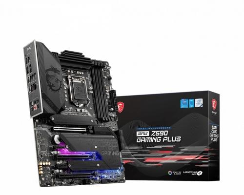 Tarjeta Madre MSI ATX MPG Z590 GAMING PLUS, S-1200, Intel Z590, HDMI, 128GB DDR4 para Intel