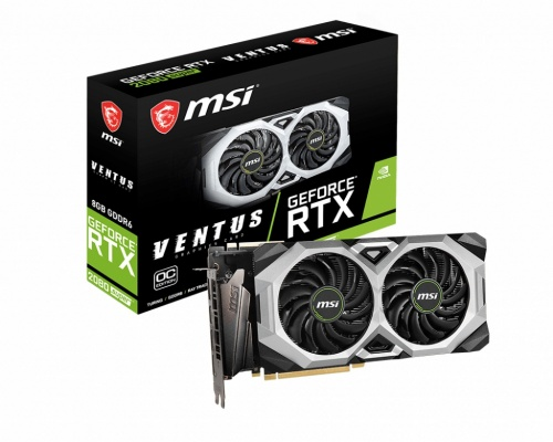 Tarjeta de Video MSI NVIDIA GeForce RTX 2080 SUPER VENTUS XS OC, 8GB 256-bit GDDR6, PCI Express x16 3.0