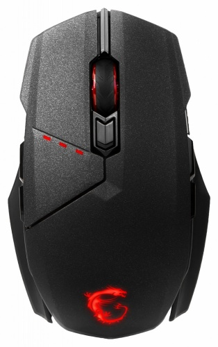 Mouse Gamer MSI Óptico Clutch GM70, RF Inalámbrico, USB, 18.000DPI, Negro