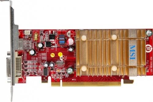 Tarjeta de Video MSI Radeon X1550, 128MB 64 bit GDDR2, PCI Express x16