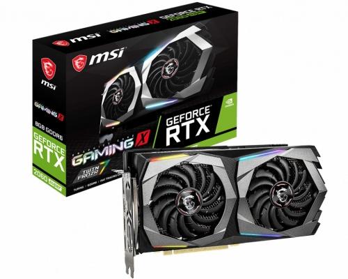 Tarjeta de Video MSI NVIDIA GeForce RTX 2060 SUPER GAMING X, 8GB 256-bit GDDR6, PCI Express x16 3.0