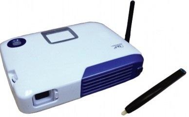 Proyector Portátil Multimedia Screens ML70i DLP, XGA 1024 x 768, 800 Lúmenes, Azul/Blanco