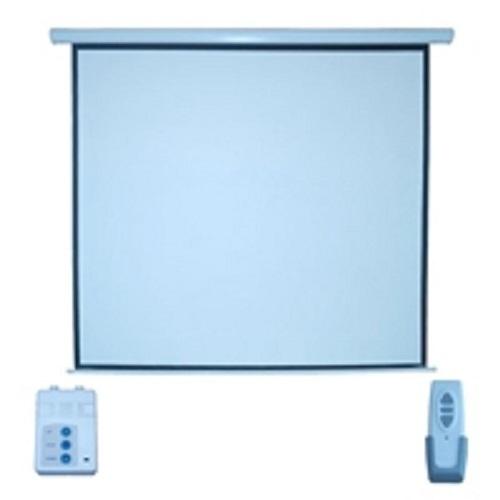 """Multimedia Screens Pantalla de Proyección Electrica MSE-183, 120"""", Blanco"""