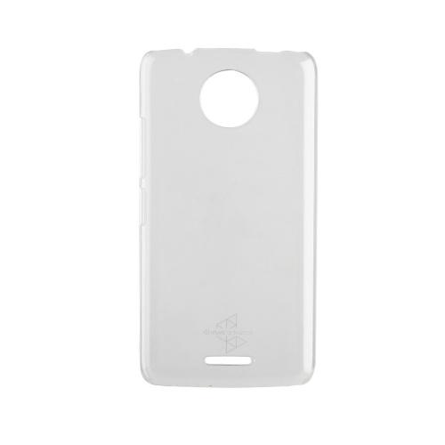 Muvit Funda MMCRY0017 para Motorola C4 4G, Transparente