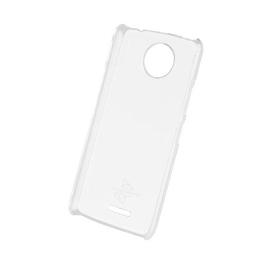 Muvit Funda MMCRY0019 para Motorola Moto C Plus, Transparente