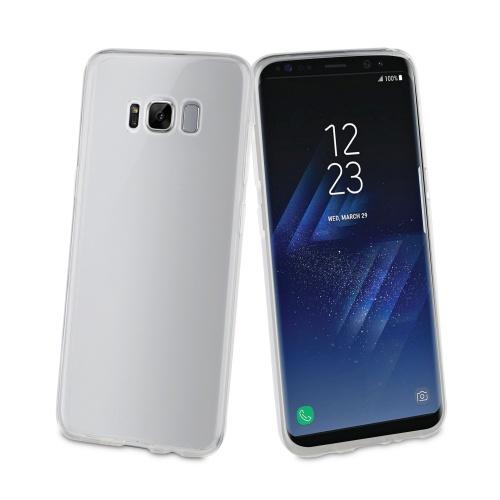 Muvit Funda MUCRS0070 para Samsung Galaxy S8 Plus, Transparente
