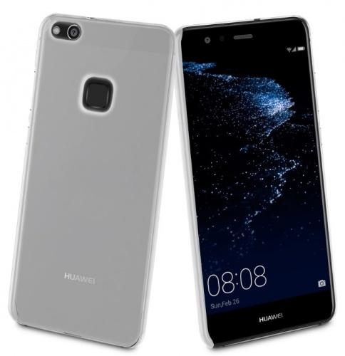 Muvit Carcasa Rígida MUCRY0155 para Huawei P10 Lite, Transparente
