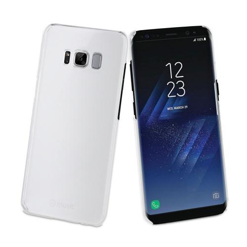 Muvit Funda MUCRY0156 para Samsung Galaxy S8, Transparente