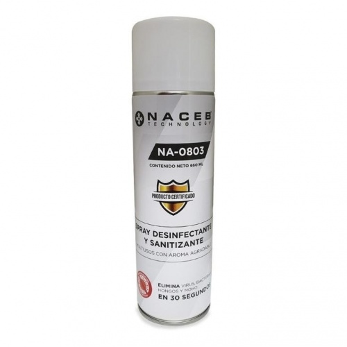 Naceb Technology Desinfectante en Aerosol, 660ml