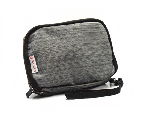 Naceb Kit de Viaje con Cargador Portátil NA-0401, 4400mAh, Gris - incluye Cargador para Auto/Mini Mouse/Hub USB/Cargador USB