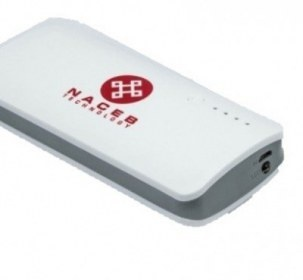 Cargador Portátil Naceb Power Bank NA-440, 13000mAh, Blanco