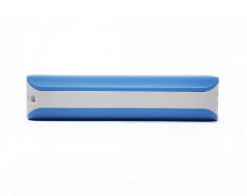 Cargador Portátil Naceb NA-605, 2200mAh, Azul