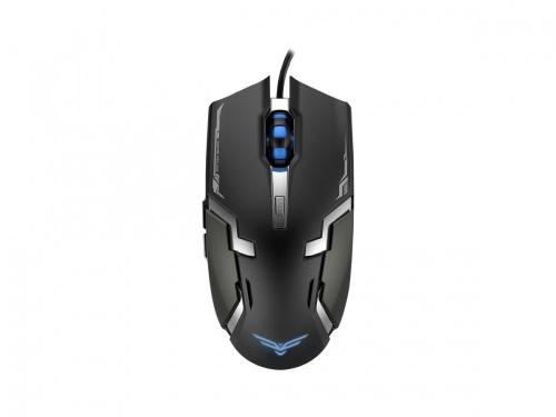 Mouse Gamer Naceb Láser NA-629, Alámbrico, USB, 3200DPI, Negro