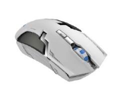 Mouse Gamer Naceb NA-631, RF Inalámbrico, 1600DPI, Negro