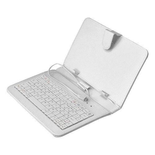 Necnon Funda con Teclado para Tablet 7