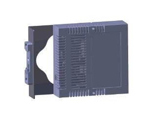 Netonix Montaje para Riel de Rack, Gris, para Switch WS-6-MINI