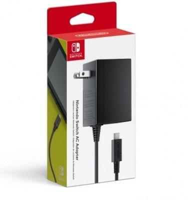 Nintendo Adaptador de Corriente NDS, 320mAh, para Nintendo Swicth