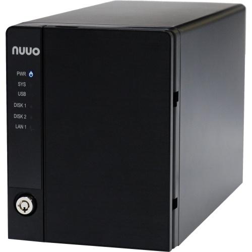 NUUO NVR de 4 Canales Mini2 para 2 Discos Duros, máx. 6TB, 2 Puertos USB 2.0, 1 Puerto RJ-45, Negro