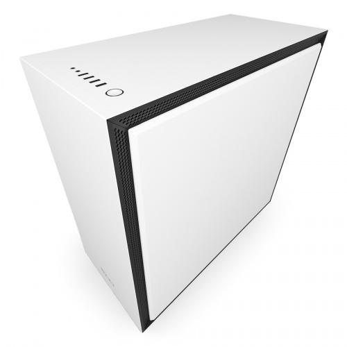 Gabinete NZXT H700 con Ventana, Midi-Tower, ATX/EATX/Micro-ATX/Mini-ATX, USB 2.0, Sin Fuente, Blanco