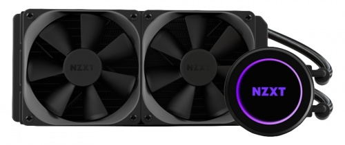 NZXT Kraken X52 Enfriamiento Líquido para CPU, 2x 120mm, 500RPM - 2000RPM