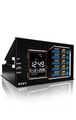 NZXT Sentry LX LCD, Controlador de Ventilador, Dual 5.25''