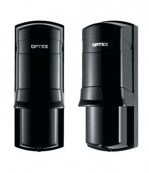 Optex Sensor de Movimiento Infrarrojo AX-70TN, Alámbrico, 20 Metros, Negro