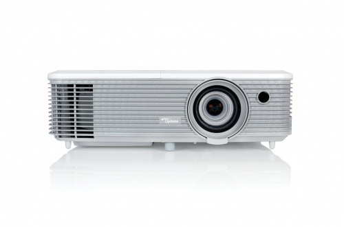 Proyector Optoma X400+ DLP, XGA 1024 x 768, 4000 Lúmenes, con Bocinas, Gris/Blanco