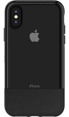 OtterBox Funda de Cuero Statement para iPhone X , Negro