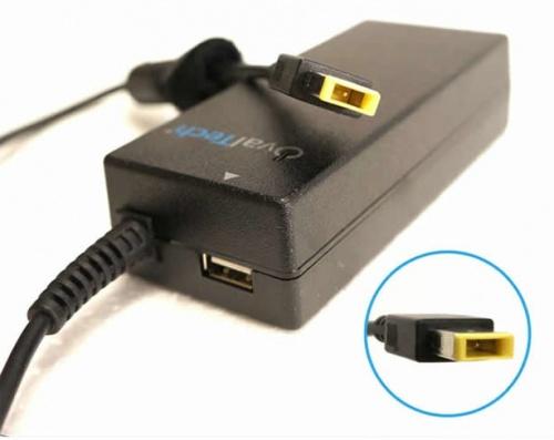 Cargador Ovaltech Compatible, 65W, 20V, para Lenovo