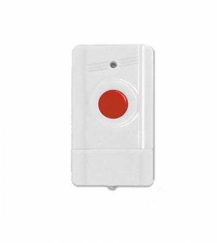Paamon Botón de Pánico PM-PANIC1, Inalámbrico, Batería, Blanco/Rojo