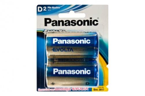 1ac1a1ccb Panasonic Pilas Alcalinas Tipo D, 1.5V, 2 Piezas, LR20EGL/2B ...