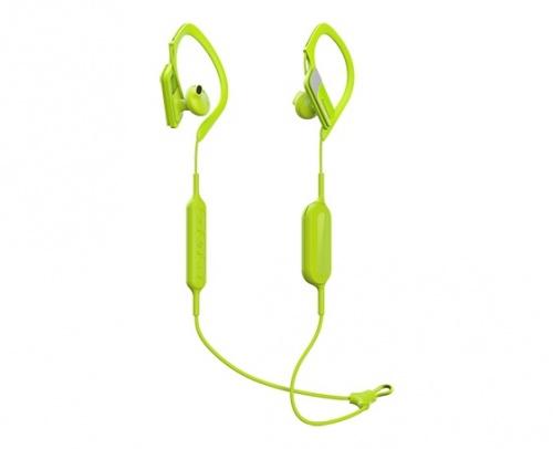 Panasonic Audífonos Intrauriculares Deportivos RP-BTS10, Inalámbrico, Bluetooth, Amarillo