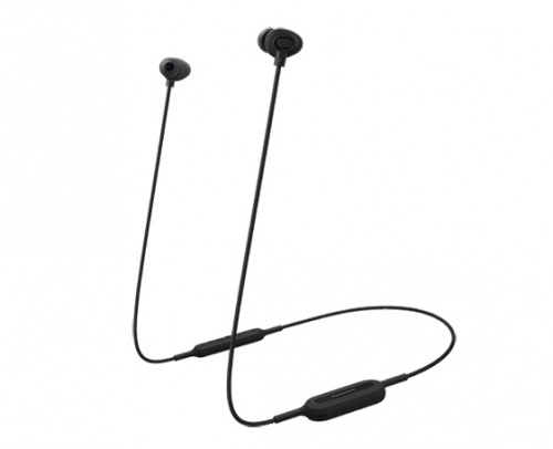 Panasonic Audífonos Intrauriculares con Micrófono RP-NJ310B, Inalámbrico, Bluetooth, USB, Negro