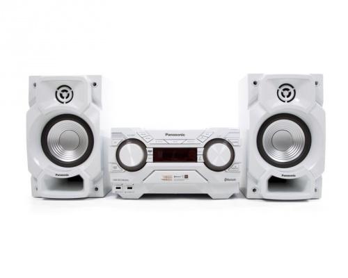 Panasonic SC-AKX220LMW Mini Componente, Bluetooth, 400W RMS, USB 2.0, Blanco