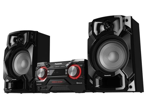 Panasonic SC-AKX440 Mini Componente, Bluetooth, 650W RMS, 7150W PMPO, USB 2.0, Negro