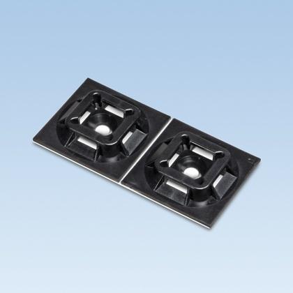 Panduit Sujetador para Cable ABM2S-AT-C0, Negro, 1 Pieza