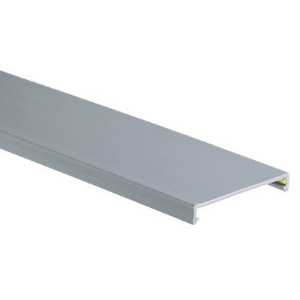 Panduit Tapa para Ducto Ranurado, 3'' x 6', PVC, Gris