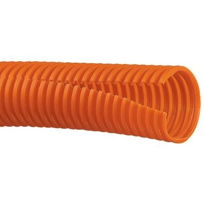 Panduit Tubo Corrugado para Protección de Cables CLT100F-C3, 30.5 Metros, Naranja