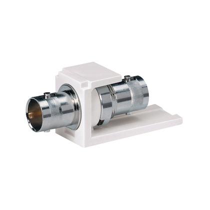 Panduit Conector Coaxial, BNC, Blanco