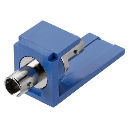 Panduit Módulo con Adaptador Fibra Óptica ST Multimodo, Azul