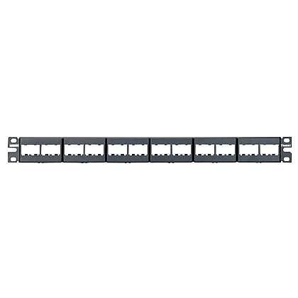 Panduit Panel de Parcheo Modular para Rack de 19'', 1U, 24 Puertos