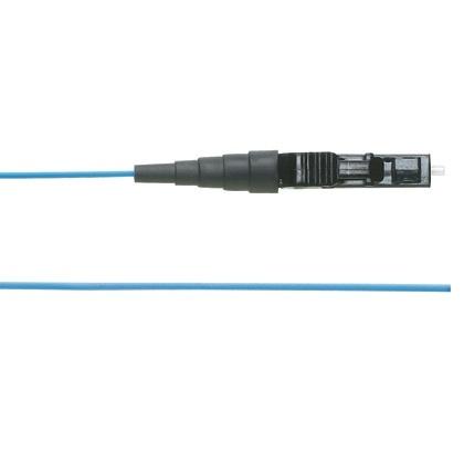 Panduit Cable Fibra Óptica OM2 LC Macho - Pigtail Macho, 1 Metro, Naranja
