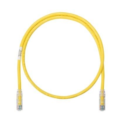 Panduit Cable Patch Cat6 UTP RJ-45 Macho - RJ-45 Macho, 91cm, Amarillo