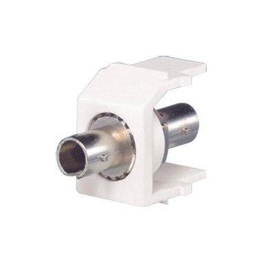 Panduit Conector de Fibra ST Multimodo, Blanco