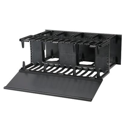 Panduit Organizador de Cables Horizontal NetManager 4U, Negro