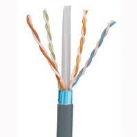Panduit Bobina de Cable Cat6 FTP 4 Pares, 305 Metros, Azul