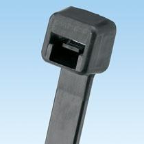 Panduit Cintillo Plástico de 3.9'' Miniatura para Exteriores, Negro, 100 Piezas